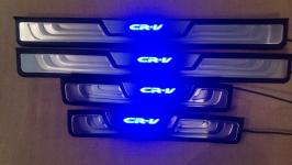 Светодиодные накладки на пороги Honda CR-V 4 поколение 2012+