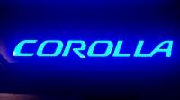 Светодиодные пороги Toyota Corolla 2013 - 2015