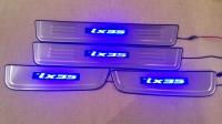 Светодиодные накладки на пороги Hyundai Ix35