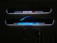 Накладки на пороги Premium Line для Kia Sportage 2010 - 2015
