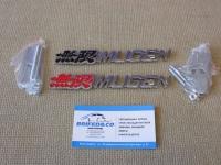 Эмблема алюминиевая для решетки радиатора Mugen для автомобилей Honda