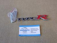 Эмблема алюминиевая для решетки радиатора Type R для автомобилей Honda