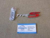 Эмблема алюминиевая для решетки радиатора Type-S для автомобилей Honda