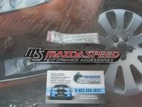 Эмблема алюминиевая для решетки радиатора MazdaSpeed для автомобилей Mazda