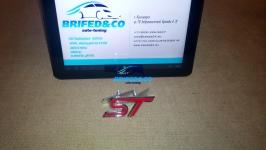 Эмблема алюминиевая для решетки радиатора ST для автомобилей Ford