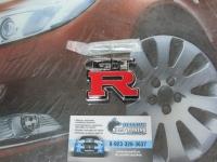 Эмблема алюминиевая для решетки радиатора GTR для автомобилей Nissan