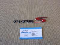 Алюминиевый шильдик с клеевой основой Type-S для автомобилей Honda