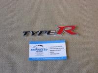 Алюминиевый Шильдик с клеевой основой Type R для автомобилей Honda