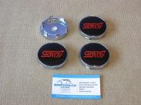 Ступичные колпачки STi для автомобилей Subaru