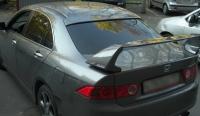 """Козырек на заднее стекло с дном """"бленда"""" на Honda Accord 7"""