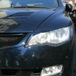 Реснички на Honda Civic 4D 8