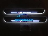Накладки на пороги Premium Line для BMW  F30 F35 3 series  2012+