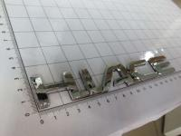 Эмблема шильдик на багажник Hiace хром 175*25 мм