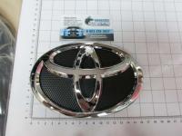 Эмблема шильдик логотип Toyota на решетку 160*110 мм