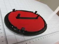 Эмблема шильдик логотип Toyota на решетку 150*105 мм