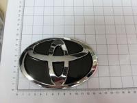Эмблема шильдик логотип Toyota на решетку 140*90 мм