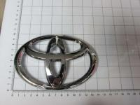 Эмблема шильдик логотип Toyota на решетку 140*95 мм