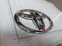 Эмблема шильдик логотип Toyota 160*110 мм