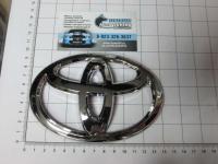 Эмблема шильдик логотип Toyota 140*95 мм