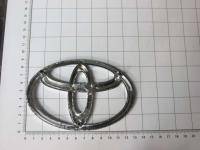 Эмблема шильдик логотип Toyota на решетку 131*86 мм
