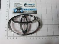 Эмблема шильдик логотип Toyota на решетку 110*75 мм