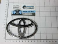 Эмблема шильдик логотип Toyota 110*75 мм