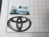 Эмблема шильдик логотип Toyota на решетку 100*67 мм