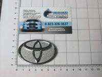 Эмблема шильдик логотип Toyota на руль закрытая 65*42 мм