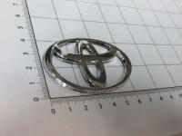 Эмблема шильдик логотип Toyota на руль 65*42 мм
