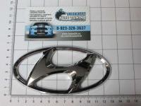 Эмблема шильдик логотип Hyundai 130*65 мм