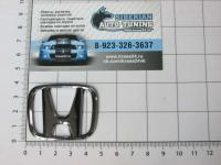 Эмблема шильдик логотип Honda на руль 46*38 мм