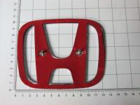 Эмблема шильдик логотип Honda 123*103 мм