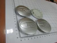 Ступичные колпачки Subaru серебро 59/51/7