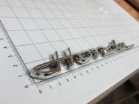 Эмблема шильдик Honda на багажник 210*22 мм