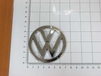 Эмблема шильдик логотип Volkswagen на багажник 70 мм