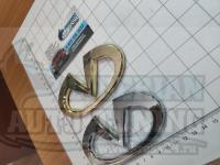 Эмблема шильдик логотип Infiniti на багажник, решетку 122x62 мм