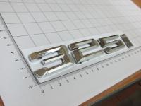 Надпись, шильдик с клеевой основой 325i для BMW Новый стиль 175*28 мм