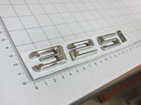 Надпись, шильдик с клеевой основой 325i для BMW 165*22 мм