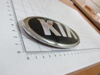 Эмблема KIA на перед/зад 130*65 мм