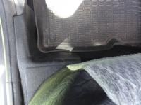 Накладки на ковролин порогов Nissan Terrano 2014-2015