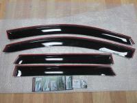 Дефлекторы окон, Ветровики Nissan Qashqai 2007-2014 с креплением