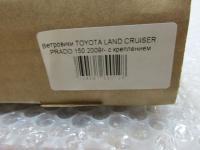 Дефлекторы окон, Ветровики Toyota Land Cruiser Prado 150 2009-2013 с креплением
