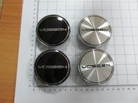 Ступичные колпачки Vossen серебро или черные 68/64 мм (4шт)