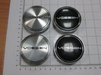 Ступичные колпачки Vossen серебро или черные 60/56 мм (4шт)