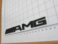 Эмблема AMG на багажник хром/черная Mercedes-Benz A220 817 10 15