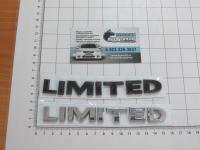 Эмблема шильдик Limited для автомобилей Toyota на багажник