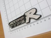 Эмблема шильдик Accord Type R для автомобилей Honda на багажник 118*33 мм