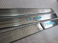 Накладки на пороги Nissan Teana 2008-2011