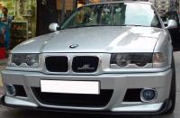 Реснички на фары BMW 3 E36 1990-2000 нижние, накладки на фары