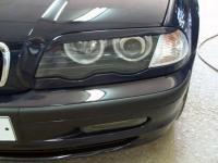 Реснички на фары BMW 5 E39 1995-2004 верхние, накладки на фары